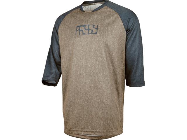 IXS Vibe 8.2 Bike Jersey Shortsleeve Men brown/blue